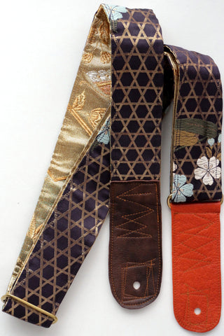 Singing Crane - Beautiful guitar strap - Shikon-gl (SC18091)