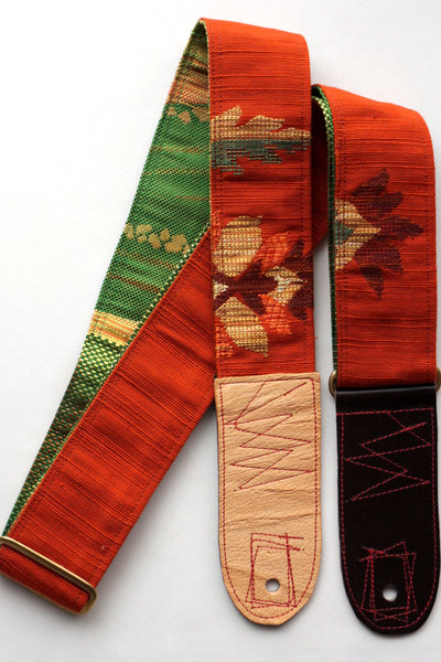 Singing Crane - Beautiful guitar strap - [HOLD] Outan-g (SC102317)