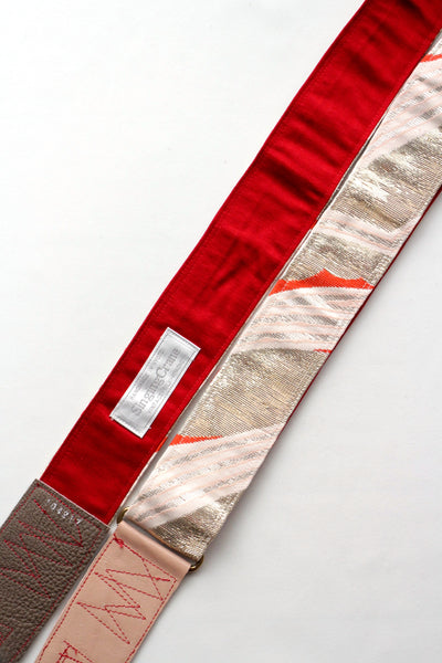 Singing Crane - Beautiful guitar strap - Ginbeni-r (SC104217)