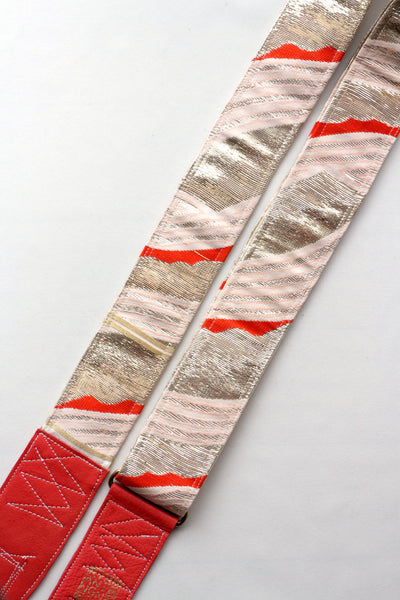 Singing Crane - Beautiful guitar strap - [HOLD] Ginbeni-sg (SC104317)