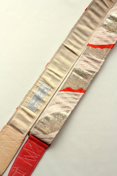 Singing Crane - Beautiful guitar strap - Ginbeni-sg (SC104317)