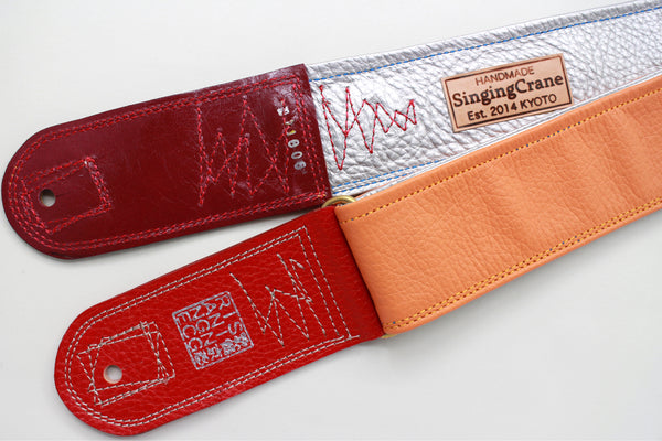Singing Crane - Beautiful guitar strap - SC118060