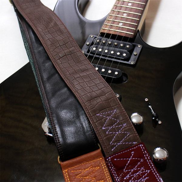 Singing Crane - Beautiful guitar strap - SC11901