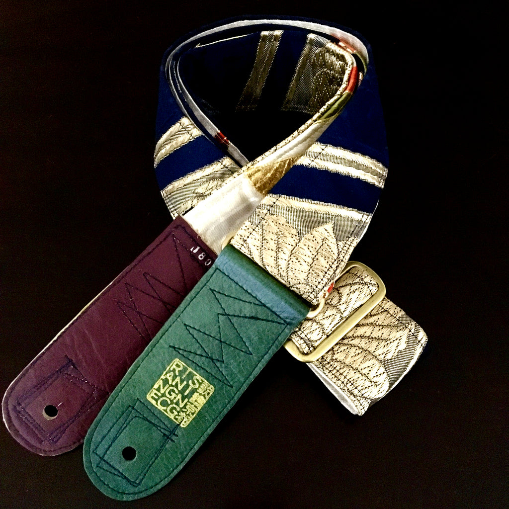 Singing Crane - Beautiful guitar strap - Koiai-sg (SC18011)
