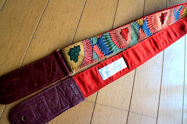 Singing Crane - Beautiful guitar strap - Aotsuyu-rd (SC18033)