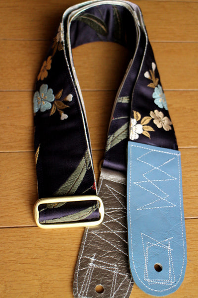 Singing Crane - Beautiful guitar strap - Shikon-wh (SC18092)