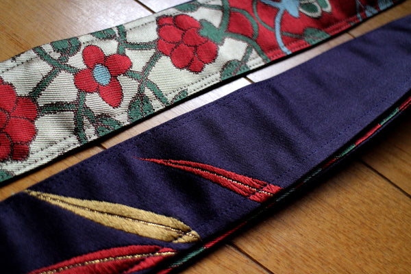 Singing Crane - Beautiful guitar strap - Shikon-rd (SC18093)