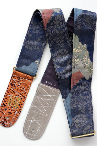 Singing Crane - Beautiful guitar strap - Rurikon-pu (SC18102)