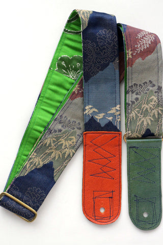 Singing Crane - Beautiful guitar strap - Rurikon-gr (SC18103)