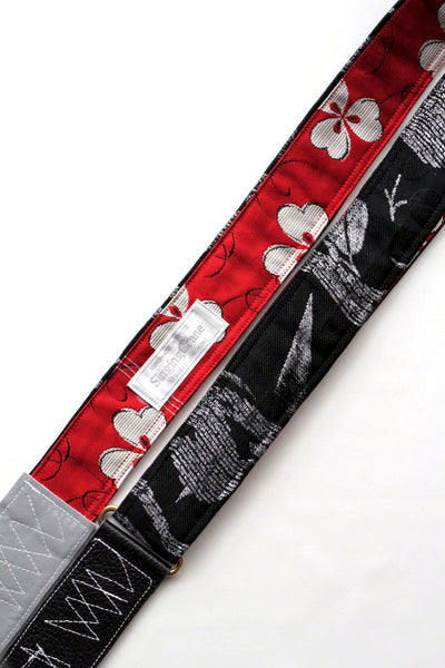 Singing Crane - Beautiful guitar strap - Rouiro-rd (SC18122)