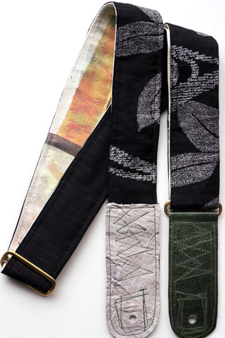 Singing Crane - Beautiful guitar strap - Rouiro-cr (SC18123)