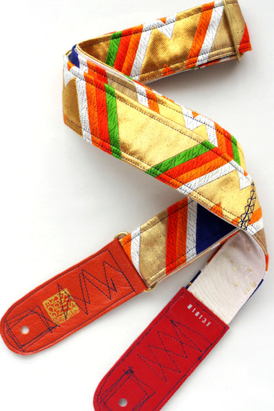 Singing Crane - Beautiful guitar strap - Konjo-wh (SC18131)