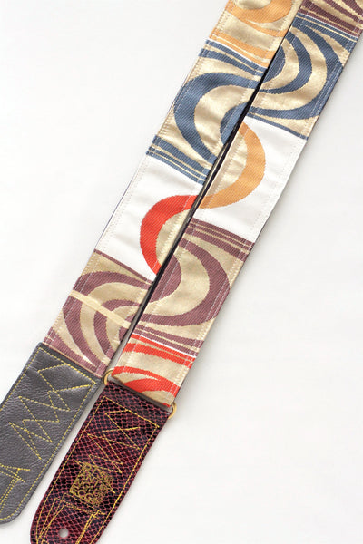 Singing Crane - Beautiful guitar strap - Shibukami-pl (SC18141)
