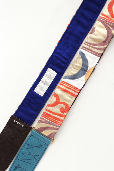 Singing Crane - Beautiful guitar strap - Shibukami-bl (SC18142)