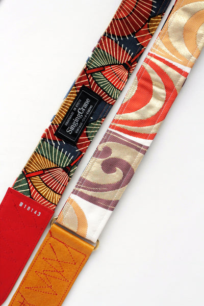Singing Crane - Beautiful guitar strap - Shibukami-um (SC18143)