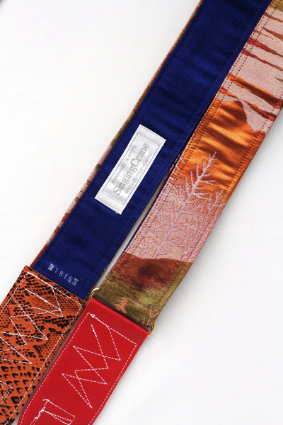 Singing Crane - Beautiful guitar strap - Kogare-bl (SC18151)
