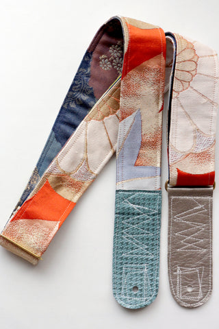 Singing Crane - Beautiful guitar strap - Kyouhi-bl (SC18162)