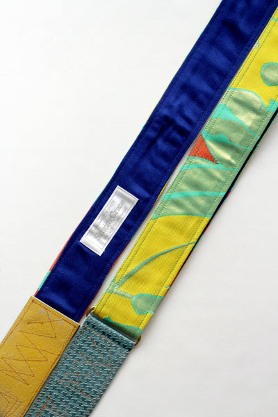 Singing Crane - Beautiful guitar strap - Hisui-bl (SC18172)