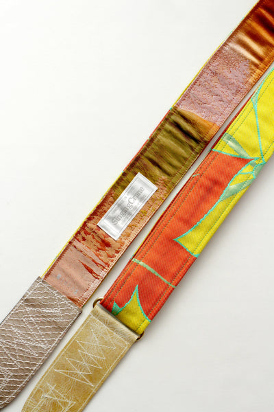 Singing Crane - Beautiful guitar strap - Hisui-mb (SC18173)