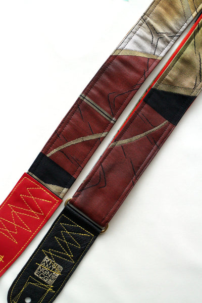 Singing Crane - Beautiful guitar strap - Sensai-rd (SC18183)