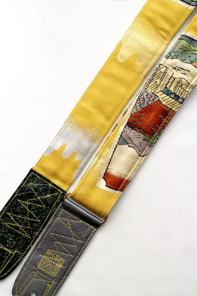 Singing Crane - Beautiful guitar strap - Kanaria-bg (SC18191)