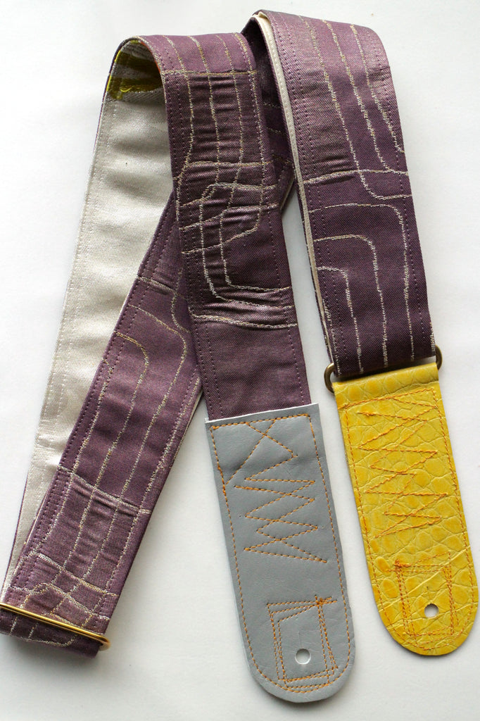 Singing Crane - Beautiful guitar strap - Botannezu-sl (SC18203)