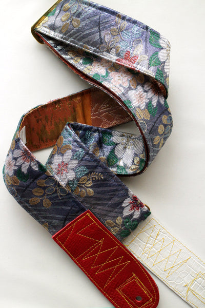 Singing Crane - Beautiful guitar strap - Ruri-cp (SC18211)