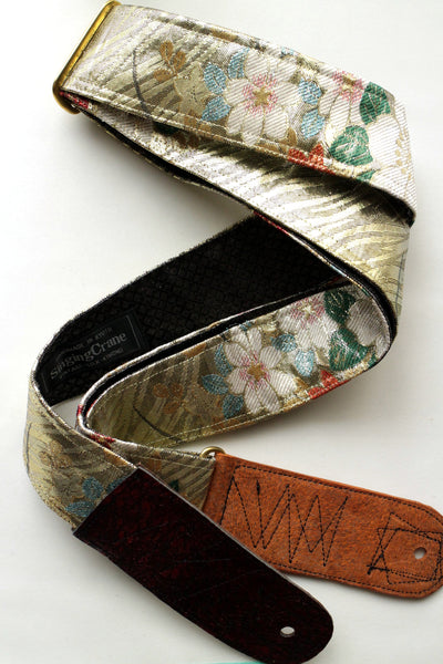 Singing Crane - Beautiful guitar strap - Ruri-bk (SC18212)