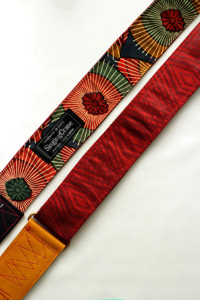 Singing Crane - Beautiful guitar strap - Shuan-um (SC18222)