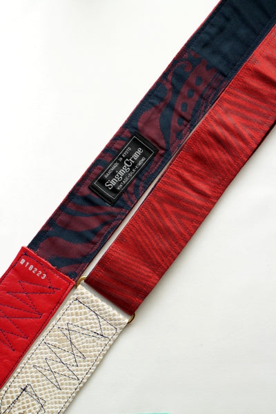 Singing Crane - Beautiful guitar strap - Shuan-nv (SC18223)