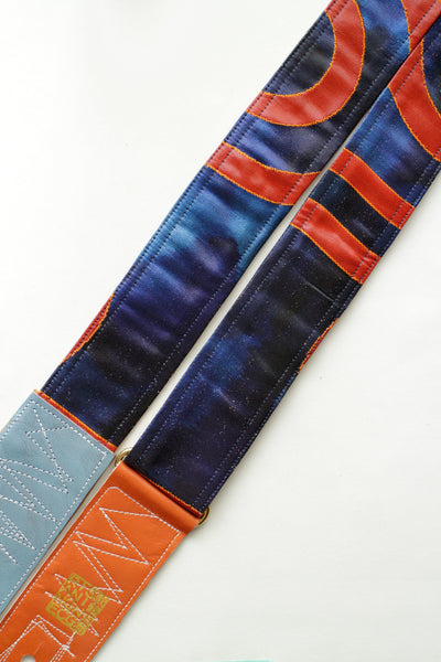 Singing Crane - Beautiful guitar strap - Konai-cr (SC18233)