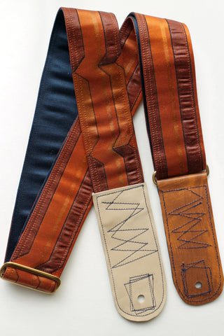 Singing Crane - Beautiful guitar strap - Niiro-nv (SC18241)