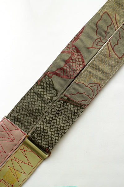 Singing Crane - Beautiful guitar strap - Baiko-go (SC18251)