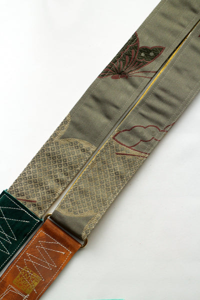 Singing Crane - Beautiful guitar strap - Baiko-yl (SC18252)