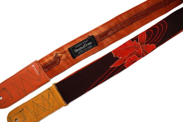 Singing Crane - Beautiful guitar strap - SC18262