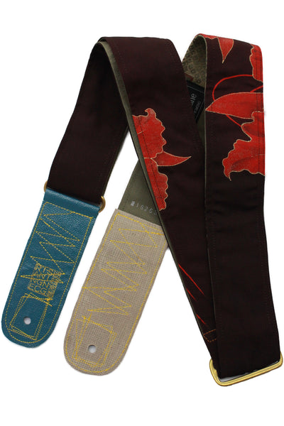 Singing Crane - Beautiful guitar strap - SC18263