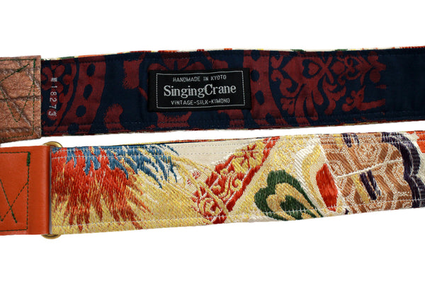 Singing Crane - Beautiful guitar strap - SC18273