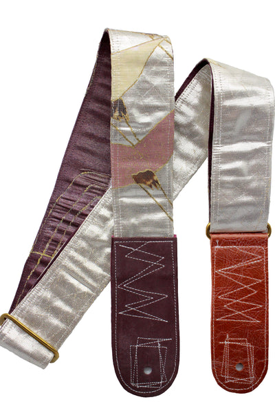 Singing Crane - Beautiful guitar strap - SC18291