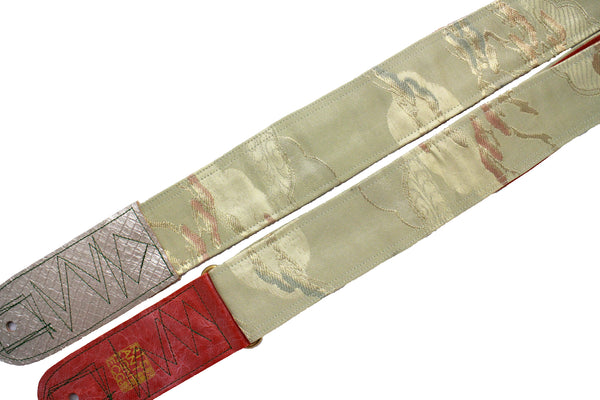 Singing Crane - Beautiful guitar strap - SC18303