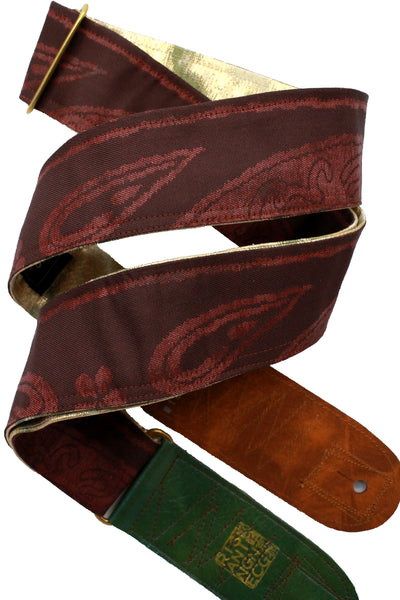Singing Crane - Beautiful guitar strap - SC18311