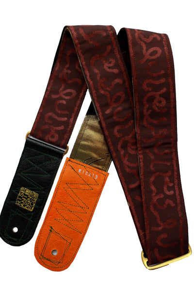 Singing Crane - Beautiful guitar strap - SC18313