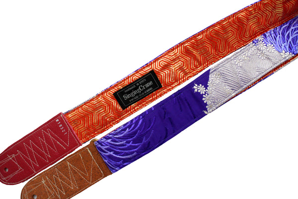 Singing Crane - Beautiful guitar strap - SC18321