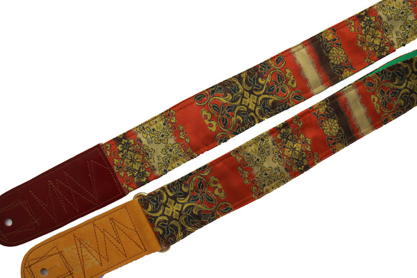 Singing Crane - Beautiful guitar strap - SC18331