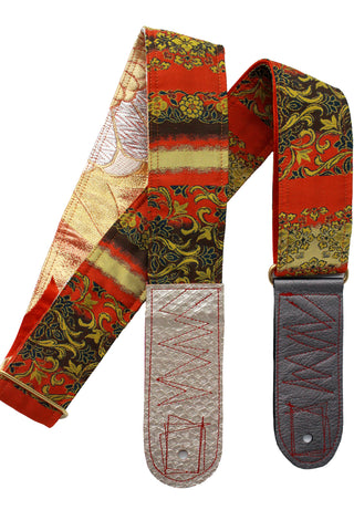 Singing Crane - Beautiful guitar strap - SC18332