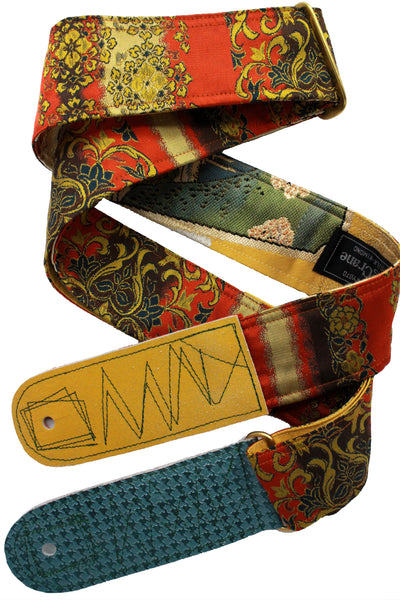 Singing Crane - Beautiful guitar strap - SC18333