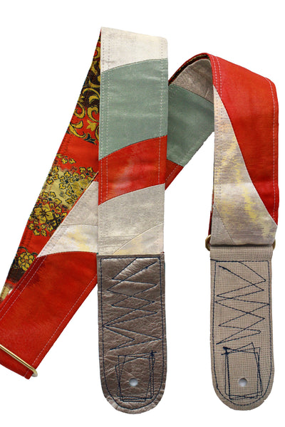 Singing Crane - Beautiful guitar strap - SC18343