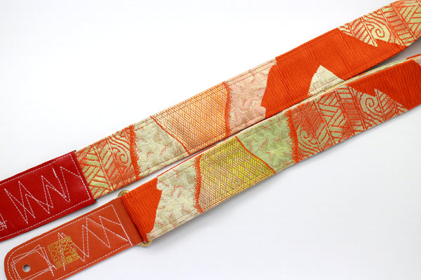 Singing Crane - Beautiful guitar strap - SC18352