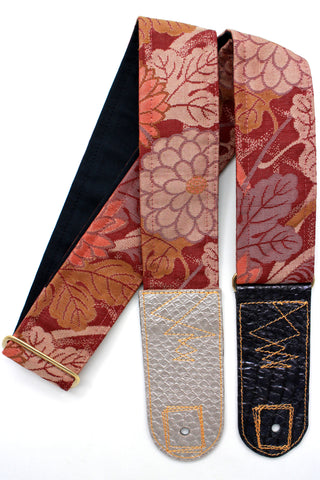 Singing Crane - Beautiful guitar strap - SC519011
