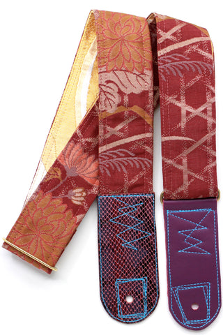 Singing Crane - Beautiful guitar strap - SC519012