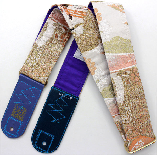 Singing Crane - Beautiful guitar strap - SC519032
